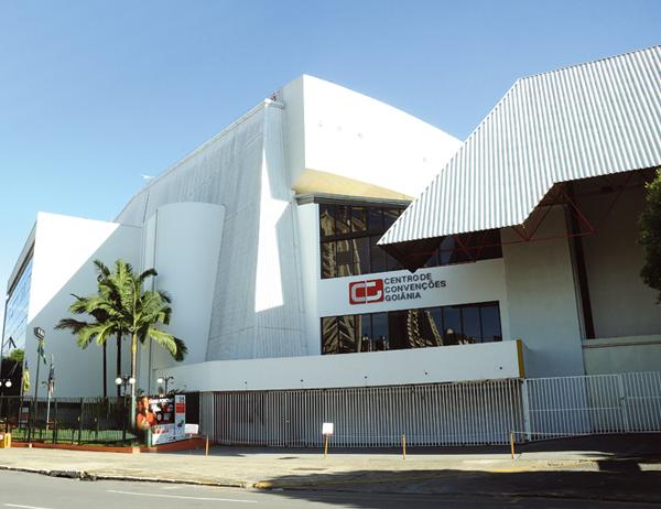 Centro de Convenções de Goiânia - Goiânia/GO