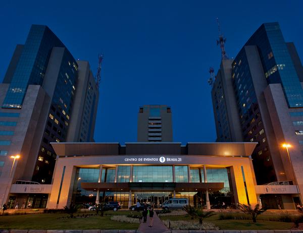 Centro de Eventos e Convenções Brasil 21 - Brasília/DF